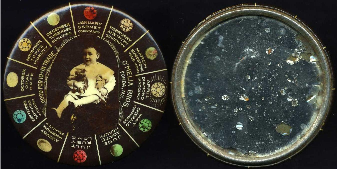 New york montgomery county fonda - Obverse Image Tc 8915 12 Birthstones And Related Inscriptions Surrounding Center